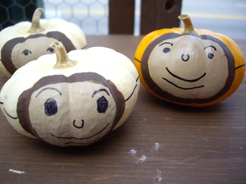 Buckeye Decorated Pumpkins | by swampkitty