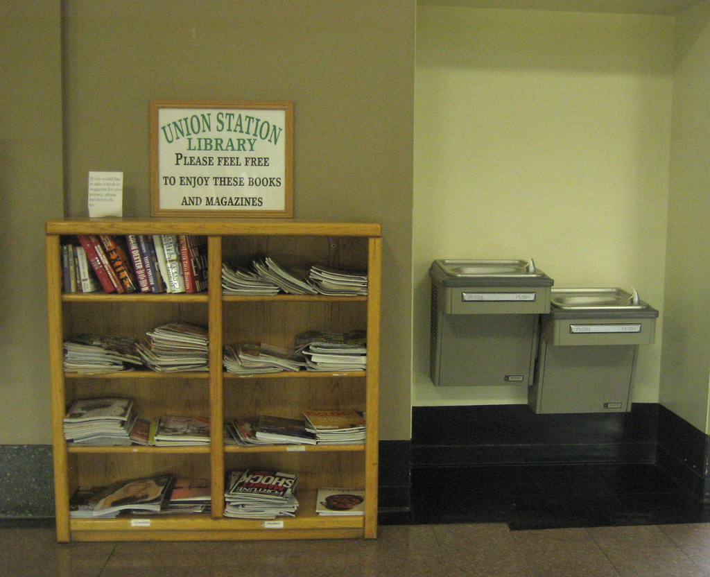 Union Station Library | take a book, leave a book, what a