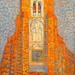Piet Mondrian - Sun, Church in Zeeland, Zoutelande Church Facade, 1910 at Tate Modern Art Gallery London England