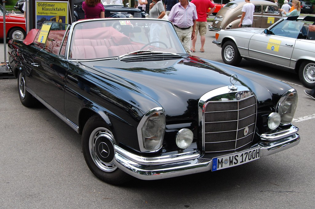 mercedes benz 220 se cabrio w111 1961 65 sweden man flickr. Black Bedroom Furniture Sets. Home Design Ideas