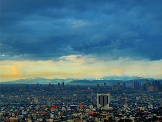 Mountains behind Makati City - Manila, Philippines | by neilalderney123