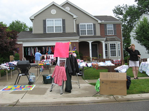 Garage Sale In Monroe | by John Beagle