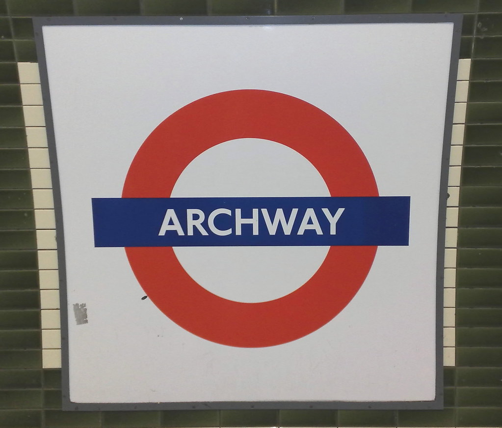 archway tube sign