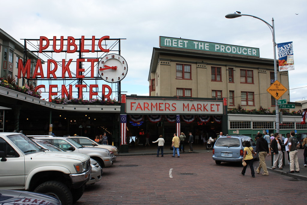 an introduction to visiting seattles pike place market
