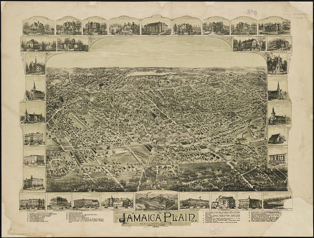 Jamaica Plain Massachusetts Zoom Into This Map At Maps