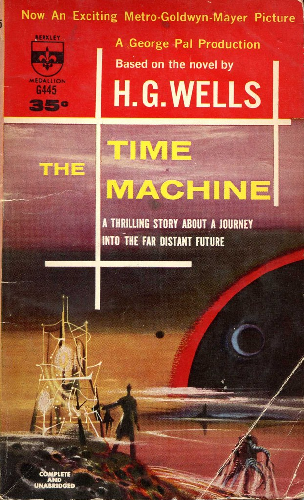 an analysis of the time machine a novel by herbert george wells The time machine was the first of a number of these imaginative literary inventions first published in 1895, the novel follows the adventures of a hypothetical time traveller who journeys into the future to find that humanity has evolved into two races: the peaceful eloi -- vegetarians who tire easily -- and the carnivorous, predatory morlocks.