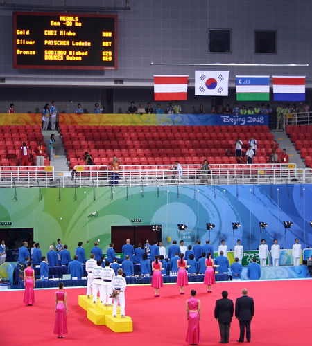 Men's Judo 60kg Medal Ceremony | by EdZa