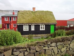 Old style Faroese House in Sandur - Faroe Islands | by Eileen Sandá