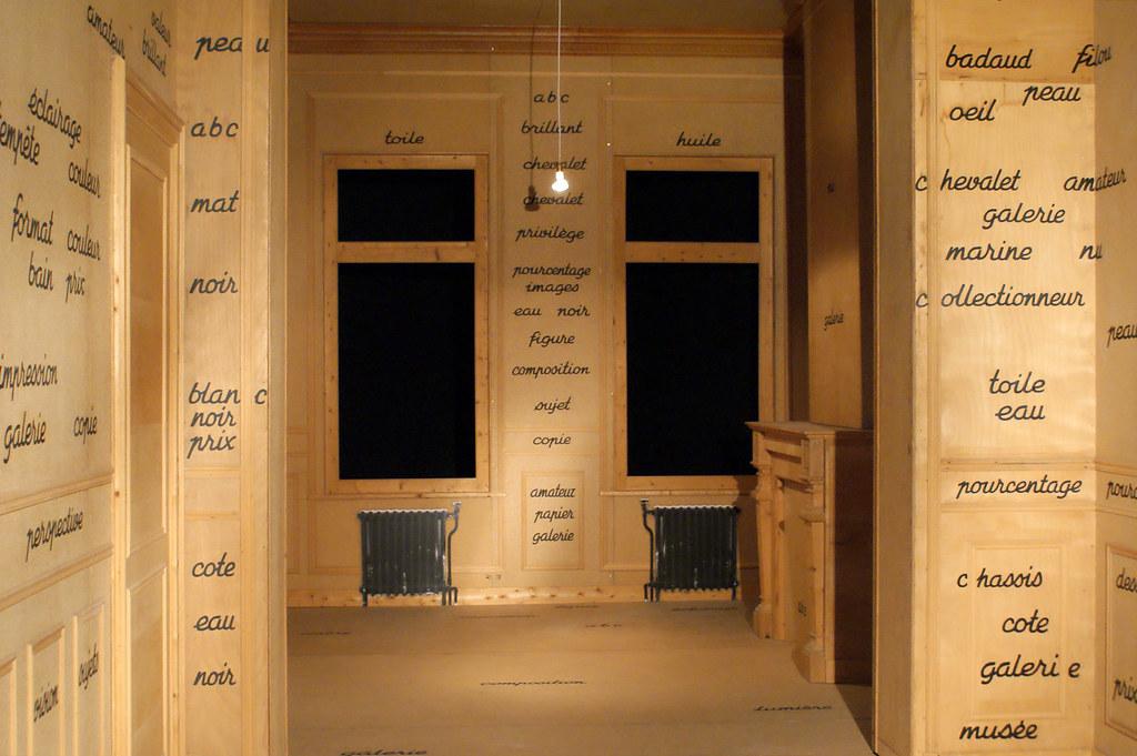 Marcel Broodthaers Photography Marcel Broodthaers la Salle