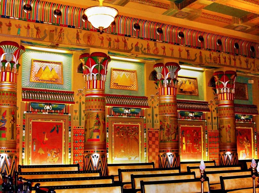 Philadelphia Egyptian Hall In The Grand Lodge Of Pennsylv