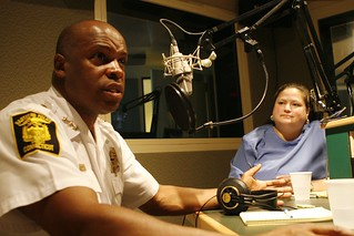 Hartford Police Chief Daryl Roberts & Peggy Jimenez of the Red Cross | by WNPR - Connecticut Public Radio