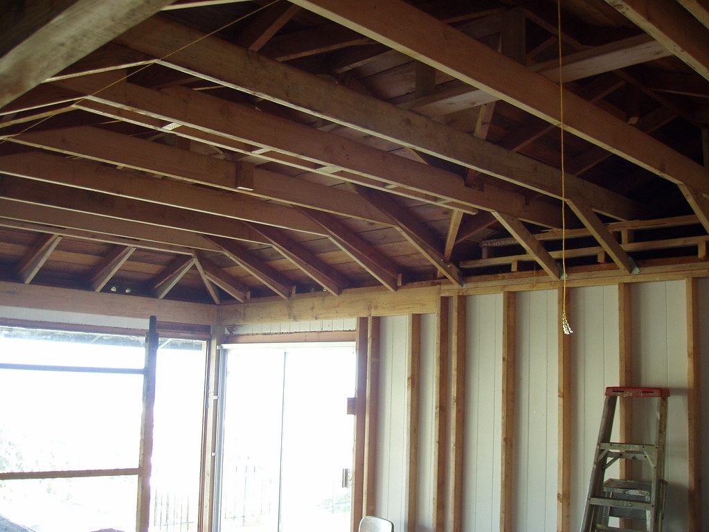 Raised Ceiling Joists After Raising The Ceiling Joists