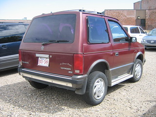 Super short wheelbase Plymouth Voyager Minivan | by dave_7