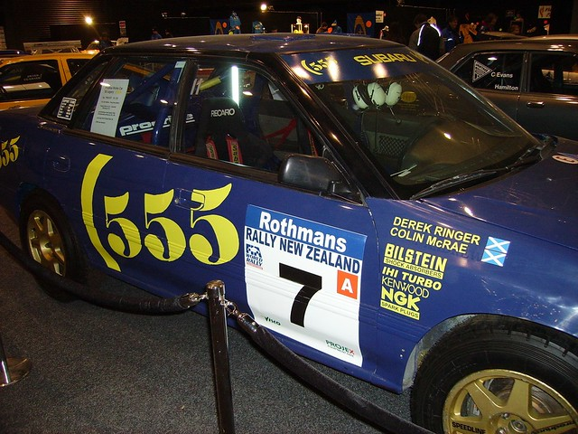 Legacy Rally Car For Sale