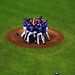 Mound Mob After No Hitter