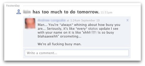 "What your Facebook ""friends"" are all secretly thinking about your whiny status updates 