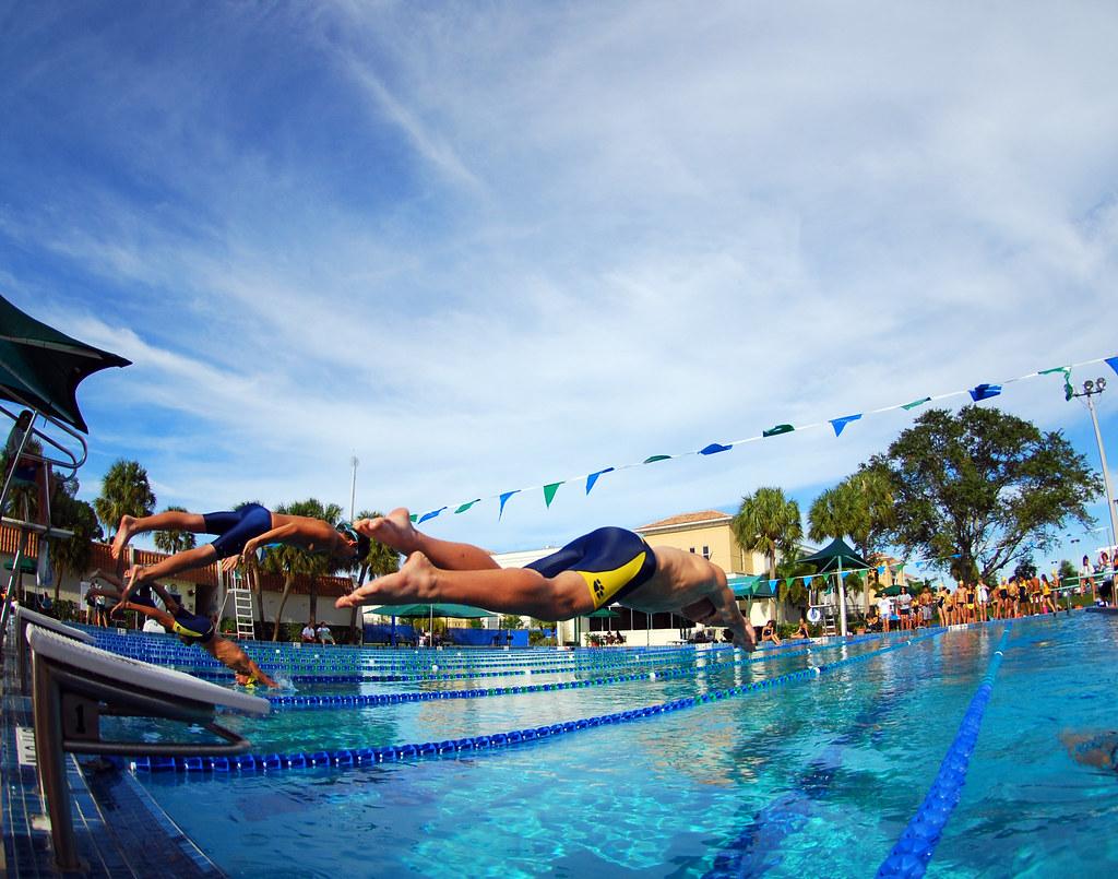 On Your Mark Get Set Go Boca Raton High School Swim