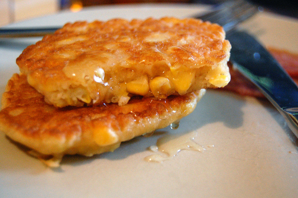 Corn Cakes And Old Fashioned