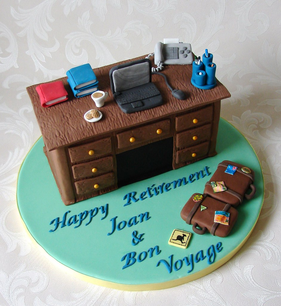 What To Write In Retirement Cake