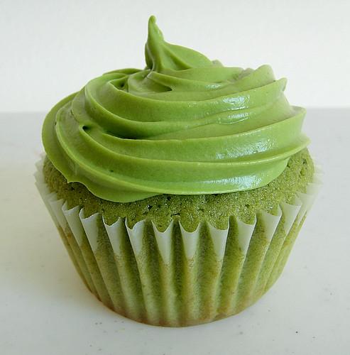 Green Tea Cupcakes I Baked Green Tea Cupcakes Today
