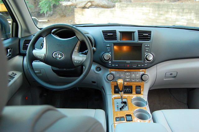 2008 Toyota Highlander Hybrid Interior Robert Yang Flickr