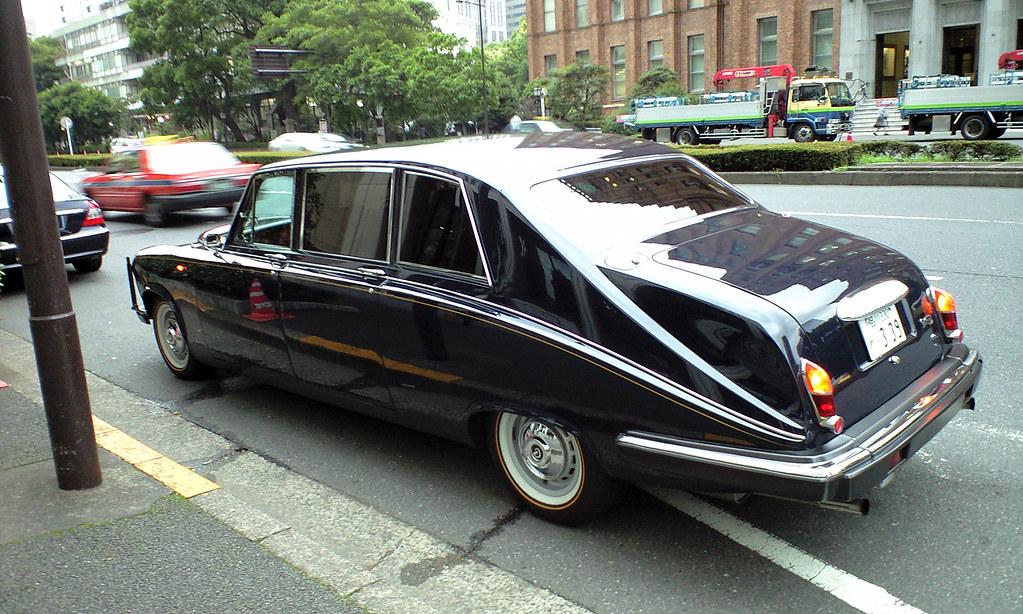 Daimler Ds420 Limousine 詳細不明。 @日比谷 ダイムラーds420であることが判明