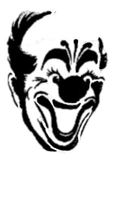 Scary clown pumpkin carving patterns car repair manuals for Creepy clown pumpkin stencil
