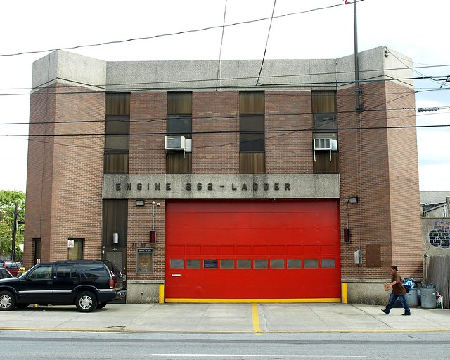 E262 FDNY Firehouse Engine 262, South Astoria, Queens, New York City