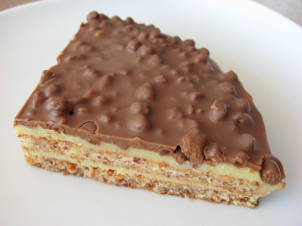 Swedish Almondy Daim Cake Recipe