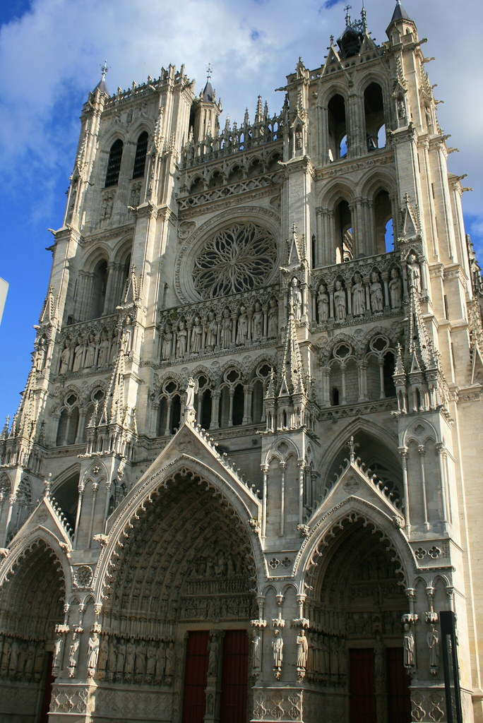 amiens cathedral amiens cathedral france robert