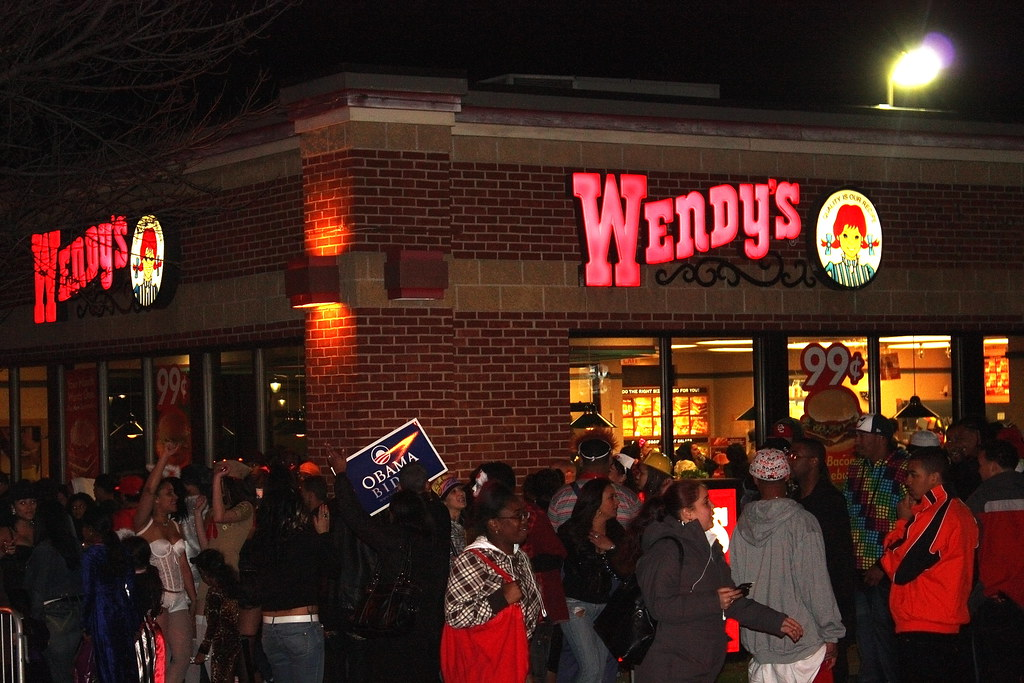 Where Is Wendys In The Fast Food Chain