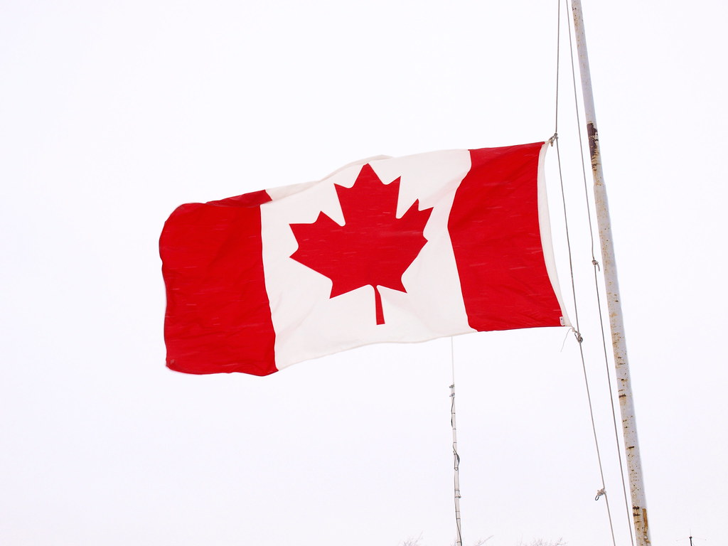 Canadian Flags Half Mast Canadian Flag at Half Mast