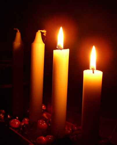 second sunday in advent and two candles are lit per ola. Black Bedroom Furniture Sets. Home Design Ideas