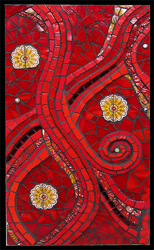 Dawn Mendelson, Red 9 | by Contemporary Mosaic Art