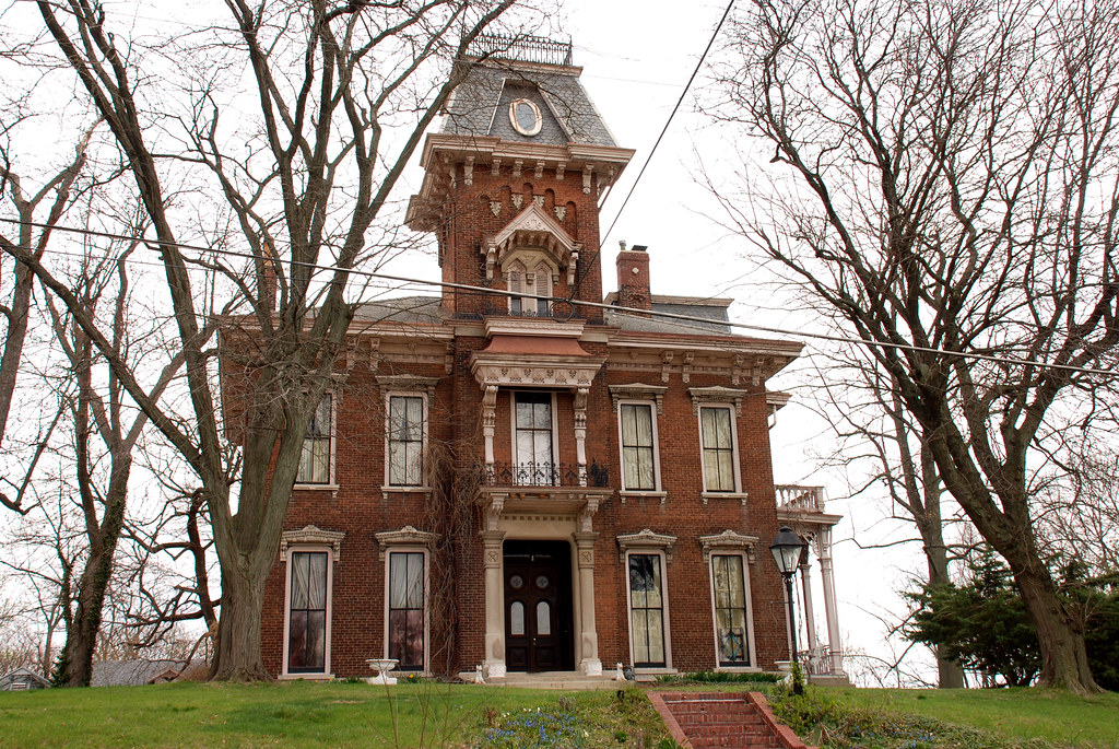 Judge Cyrus Ball House Lafayette Indiana Nrhp Building
