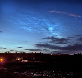 Noctilucent Clouds in the Wake of the Eclipse | by Donegal Skies
