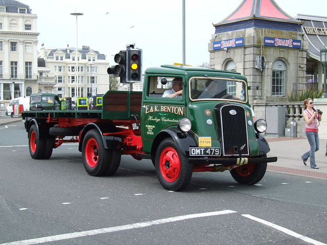 Fordson Thames Trader Articulated Vehicle London To
