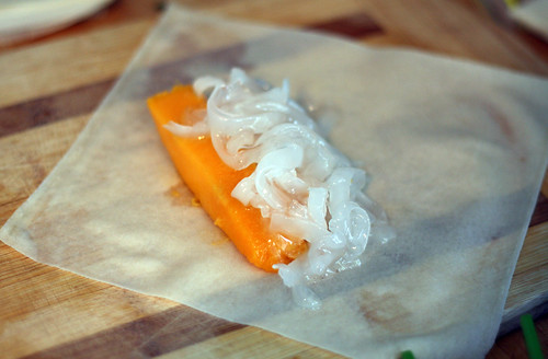mango & coconut lumpia | by rachel is coconut&lime