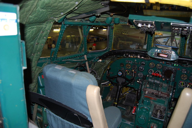 Pilot S Station And Seat Lockheed 1049h Super