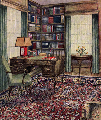 1929 Library - Carpet By Bigelow