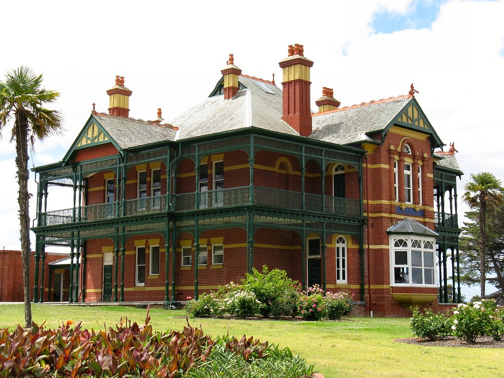Bundoora Homestead Melbourne Built In 1899 Bundoora