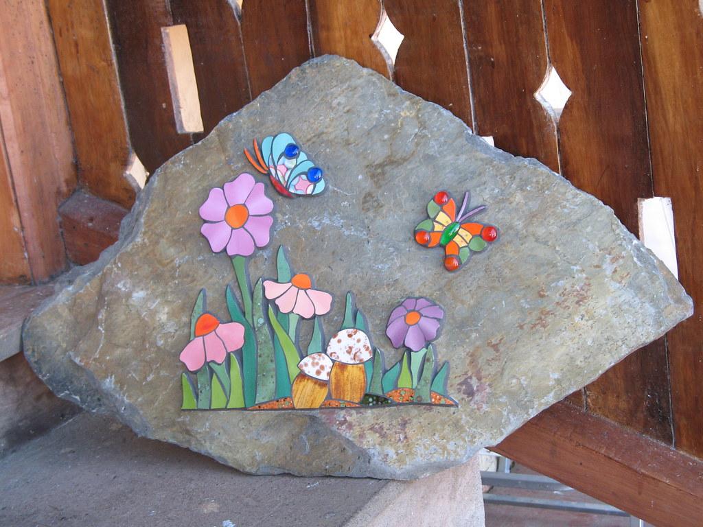 Piedra para jardin de mosaico mosaikos flickr - Piedra para jardineria ...