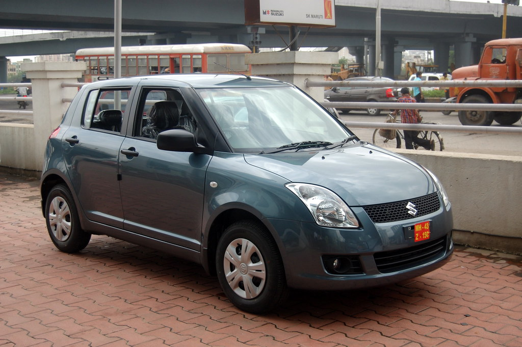 Maruti Suzuki Swift Azure Grey 2008 Car Ready For