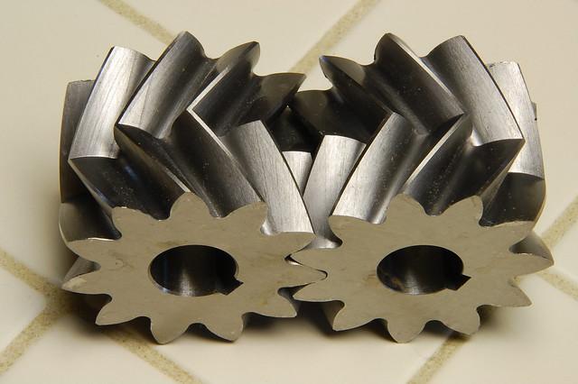 Herringbone Gears In Mesh Flickr Photo Sharing