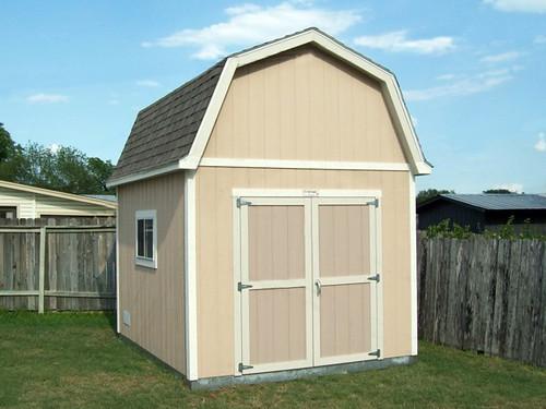 Premier Pro Tall Barn 10x12 Options Shown Paint