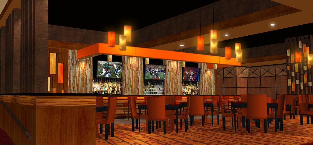 Bar Amp Lounge Design 3d Lounge Rendering Bar Decor Desi