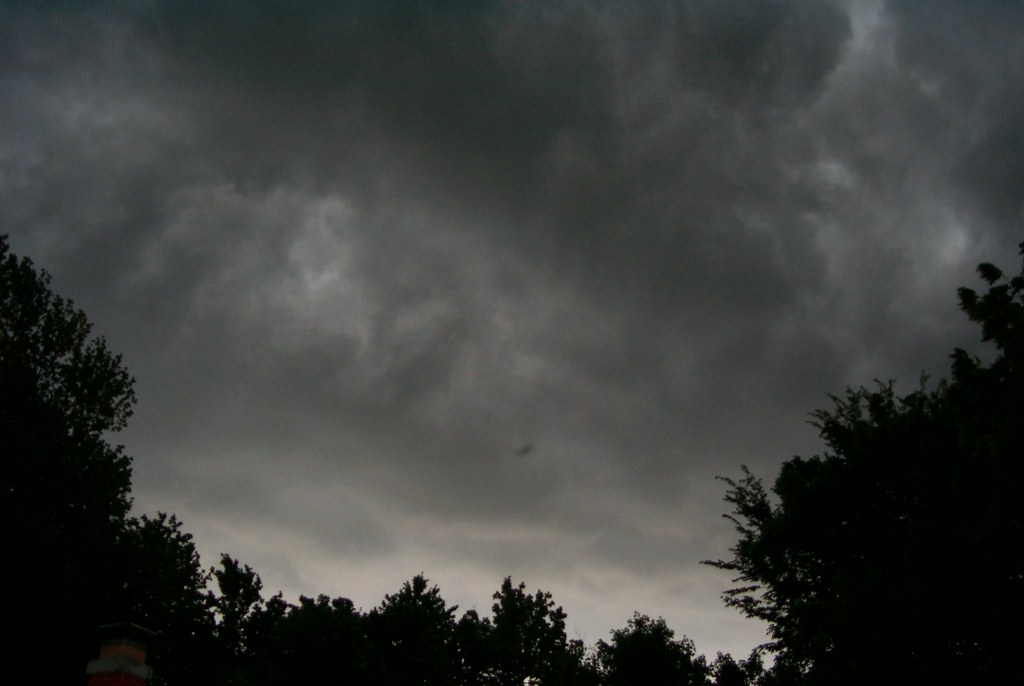 Thunder Storm In Independence Mo Ufo Is That A Flying