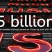 itunes hits 5 billion