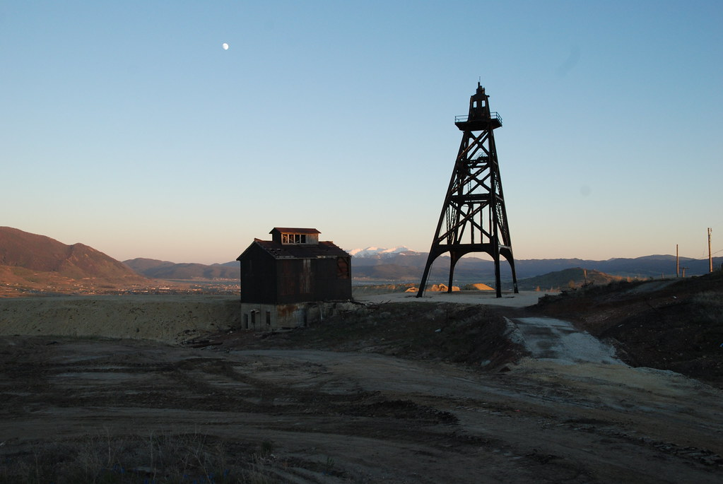 The Bell Diamond Mine In Butte Montana The Bell Diamond