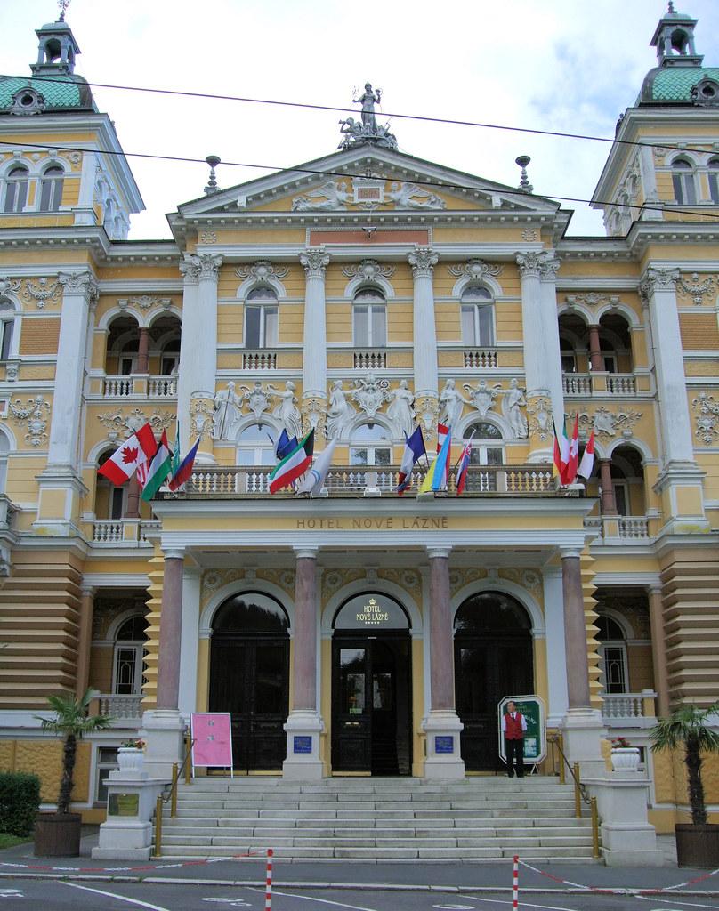Marianske Lazne Czech Republic  city photos gallery : Hotel Nove, Marianske Lazne Marienbad , Czech Republic. | Flickr